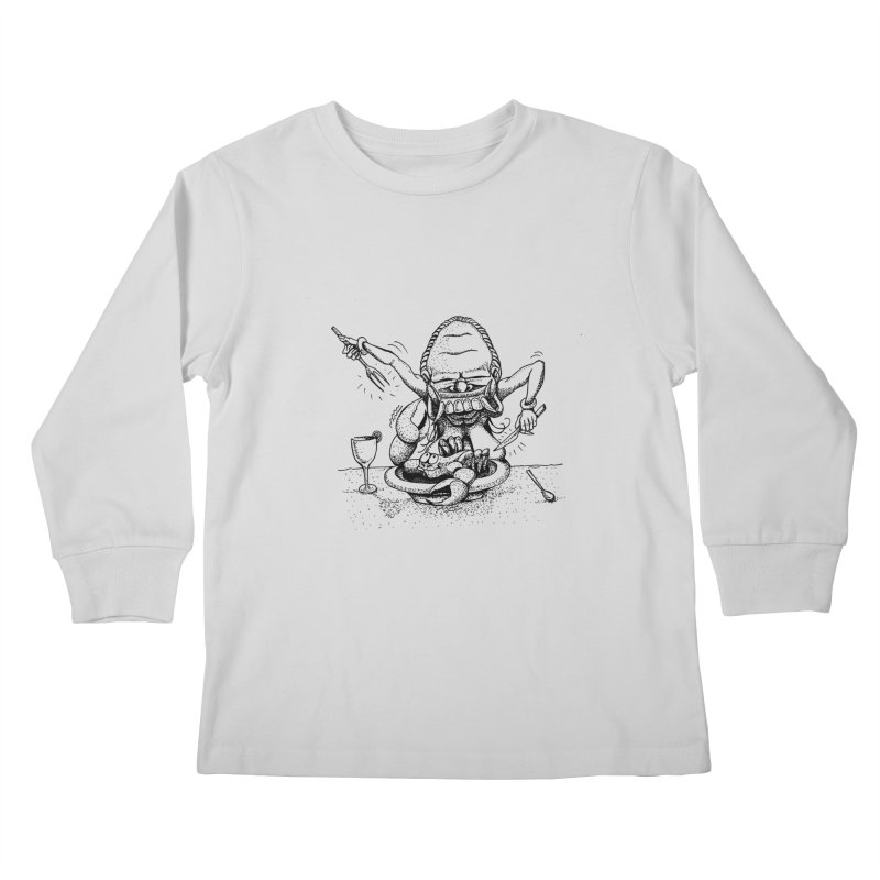 Celuluk Cancer Kids Longsleeve T-Shirt by DuMBSTRaCK CLoTH iNK PROJECT