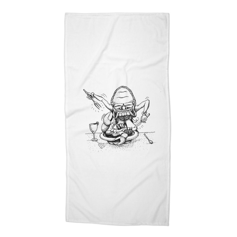 Celuluk Cancer Accessories Beach Towel by DuMBSTRaCK CLoTH iNK PROJECT