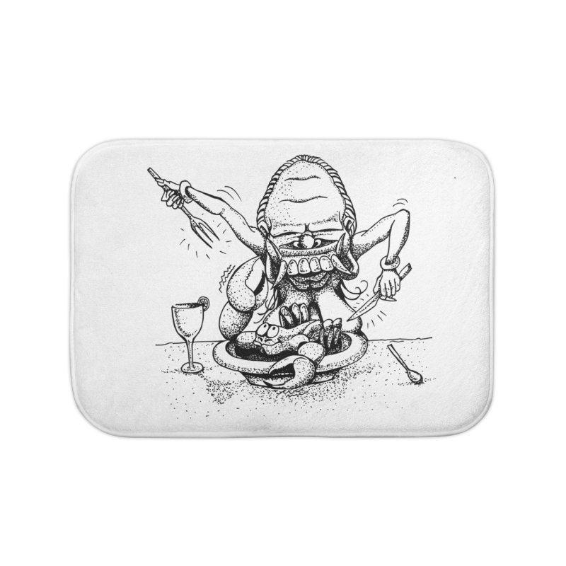 Celuluk Cancer Home Bath Mat by DuMBSTRaCK CLoTH iNK PROJECT