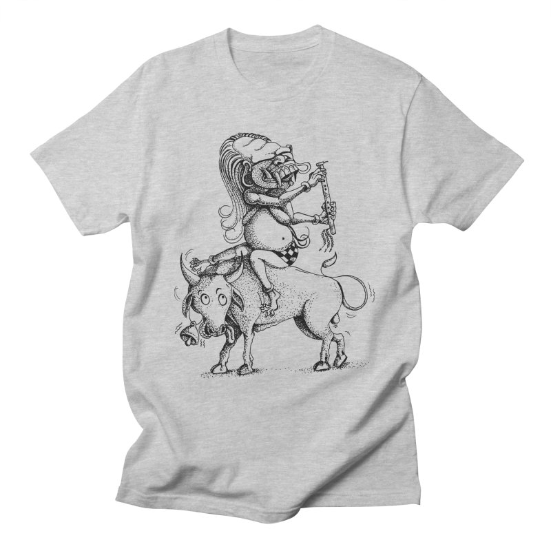 Celuluk Taurus Men's T-Shirt by DuMBSTRaCK CLoTH iNK PROJECT