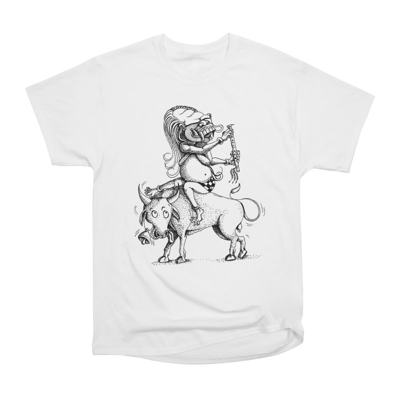 Celuluk Taurus Men's Heavyweight T-Shirt by DuMBSTRaCK CLoTH iNK PROJECT