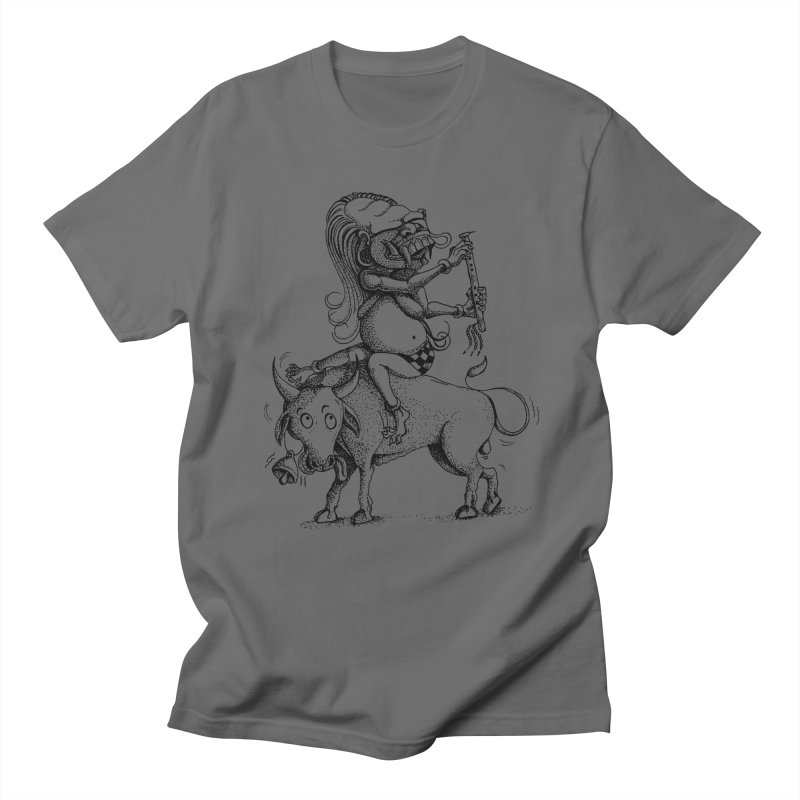 Celuluk Taurus Women's Regular Unisex T-Shirt by DuMBSTRaCK CLoTH iNK PROJECT