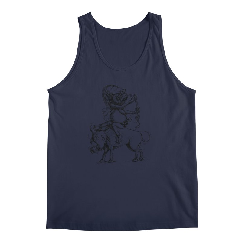 Celuluk Taurus Men's Regular Tank by DuMBSTRaCK CLoTH iNK PROJECT