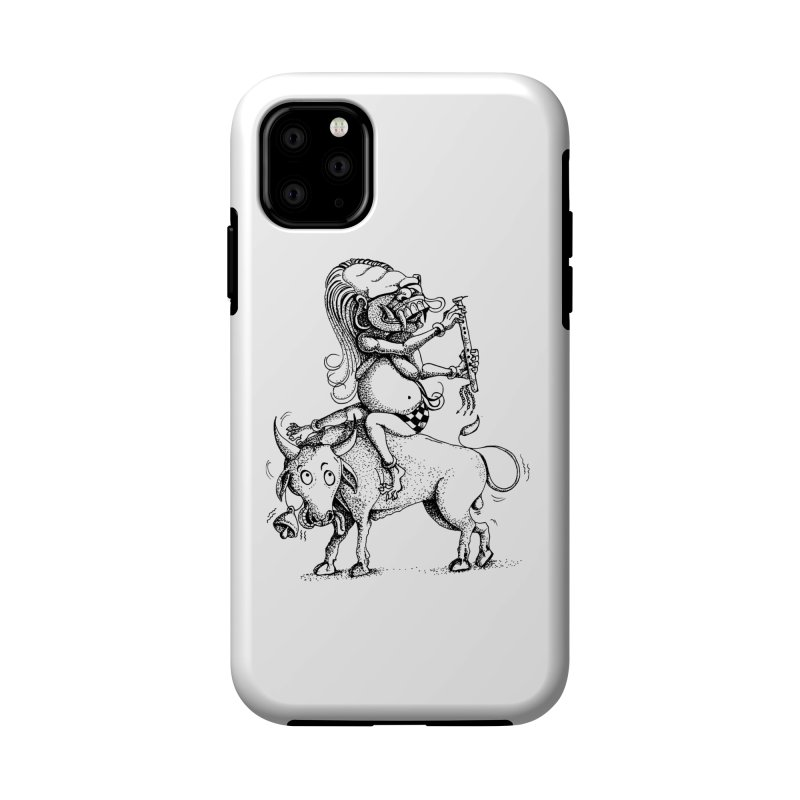 Celuluk Taurus Accessories Phone Case by DuMBSTRaCK CLoTH iNK PROJECT
