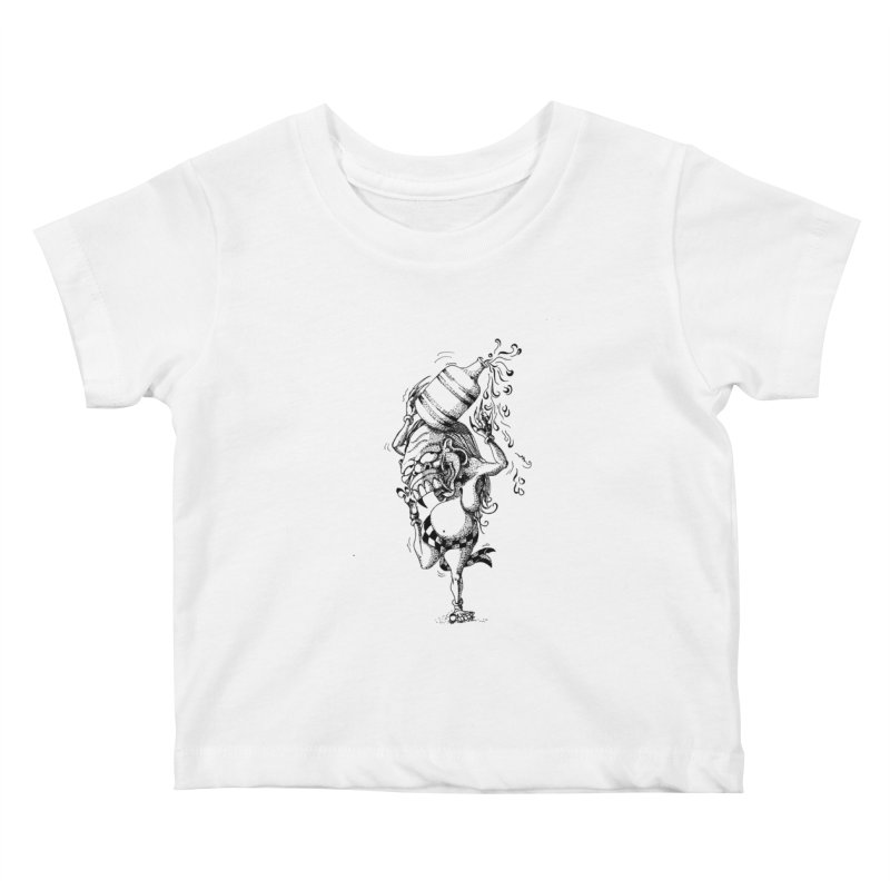 Celuluk Aquarius Kids Baby T-Shirt by DuMBSTRaCK CLoTH iNK PROJECT