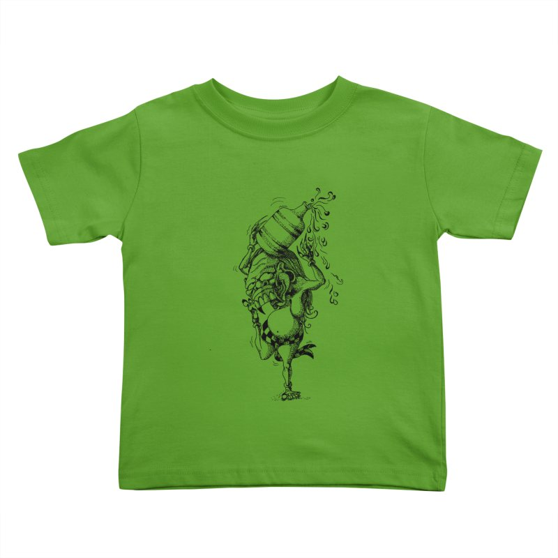 Celuluk Aquarius Kids Toddler T-Shirt by DuMBSTRaCK CLoTH iNK PROJECT