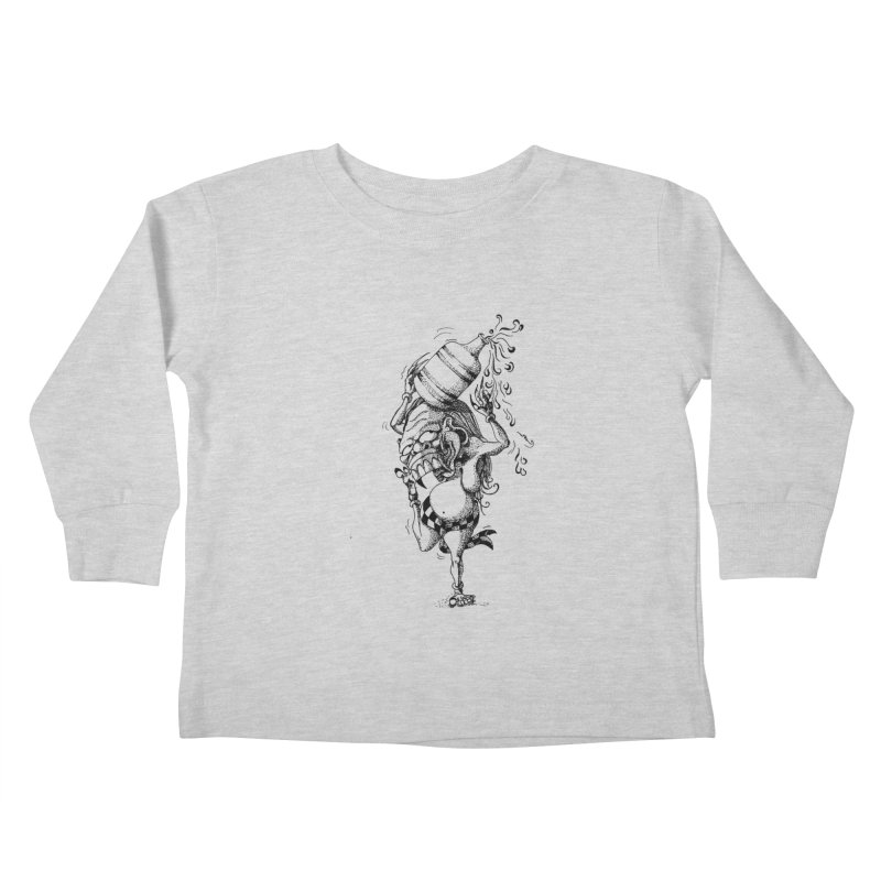 Celuluk Aquarius Kids Toddler Longsleeve T-Shirt by DuMBSTRaCK CLoTH iNK PROJECT