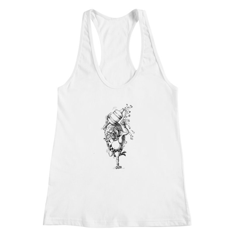 Celuluk Aquarius Women's Racerback Tank by DuMBSTRaCK CLoTH iNK PROJECT