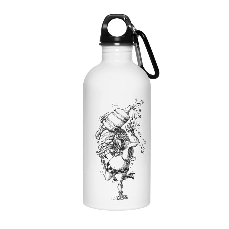 Celuluk Aquarius Accessories Water Bottle by DuMBSTRaCK CLoTH iNK PROJECT