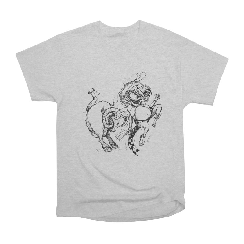 Celuluk Aries Women's Heavyweight Unisex T-Shirt by DuMBSTRaCK CLoTH iNK PROJECT