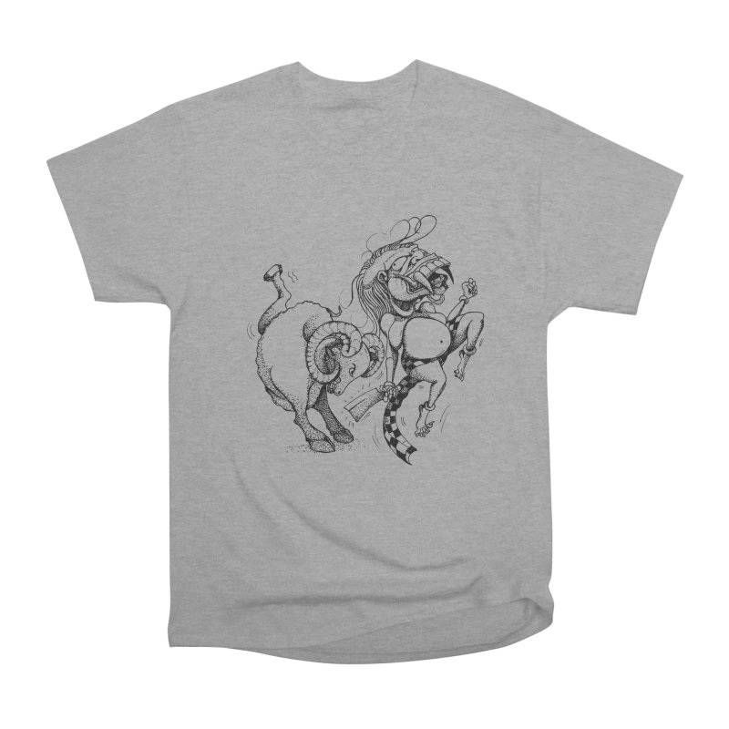 Celuluk Aries Men's Heavyweight T-Shirt by DuMBSTRaCK CLoTH iNK PROJECT