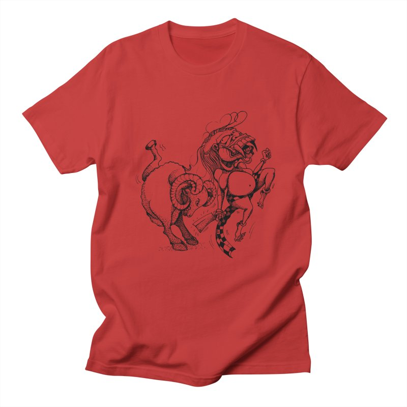 Celuluk Aries Men's T-Shirt by DuMBSTRaCK CLoTH iNK PROJECT
