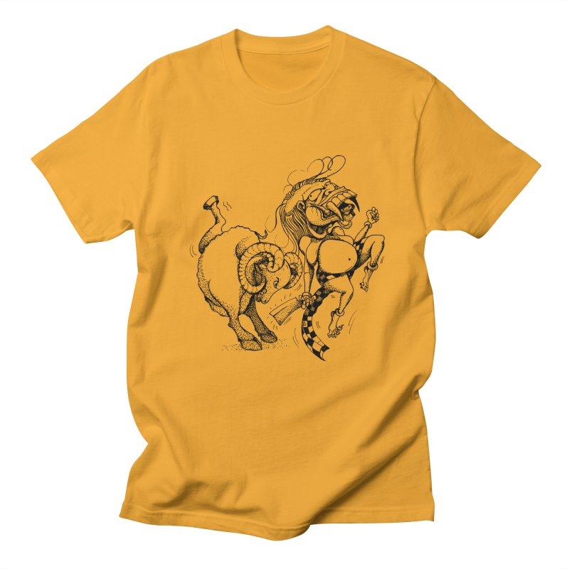 Celuluk Aries Men's Regular T-Shirt by DuMBSTRaCK CLoTH iNK PROJECT