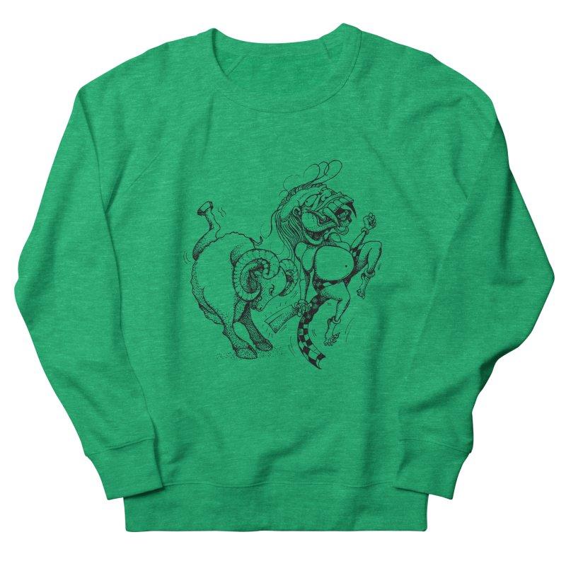 Celuluk Aries Women's Sweatshirt by DuMBSTRaCK CLoTH iNK PROJECT