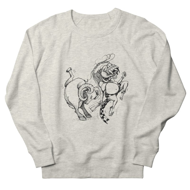 Celuluk Aries Women's French Terry Sweatshirt by DuMBSTRaCK CLoTH iNK PROJECT