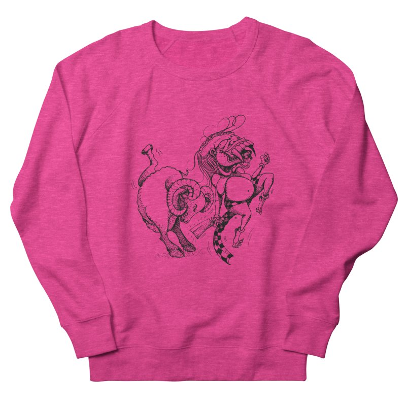 Celuluk Aries Men's Sweatshirt by DuMBSTRaCK CLoTH iNK PROJECT