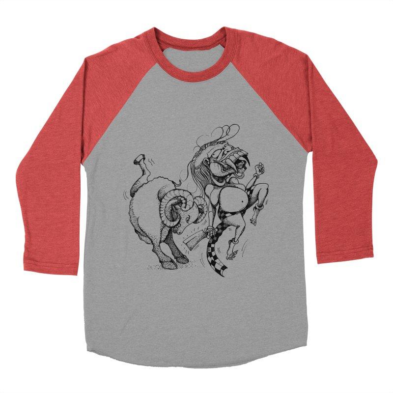 Celuluk Aries Women's Baseball Triblend Longsleeve T-Shirt by DuMBSTRaCK CLoTH iNK PROJECT