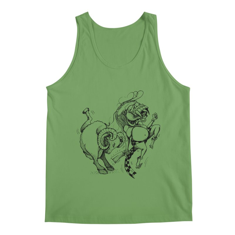 Celuluk Aries Men's Tank by DuMBSTRaCK CLoTH iNK PROJECT