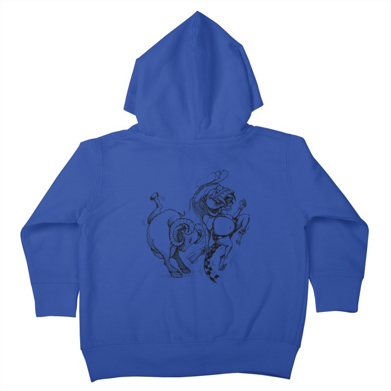 Celuluk Aries Kids Toddler Zip-Up Hoody by DuMBSTRaCK CLoTH iNK PROJECT
