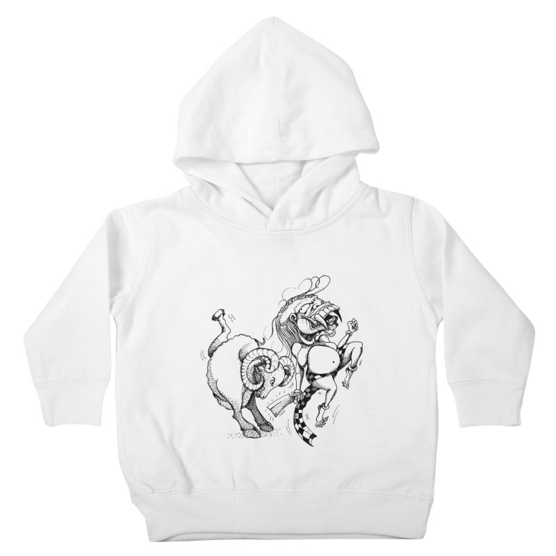 Celuluk Aries Kids Toddler Pullover Hoody by DuMBSTRaCK CLoTH iNK PROJECT