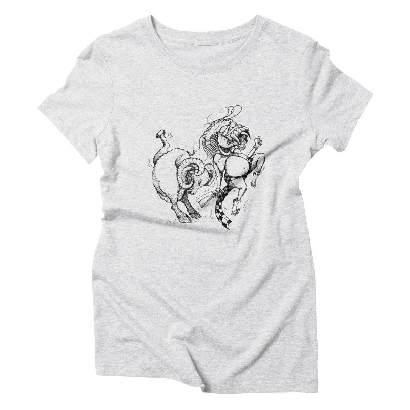 Celuluk Aries Women's Triblend T-Shirt by DuMBSTRaCK CLoTH iNK PROJECT