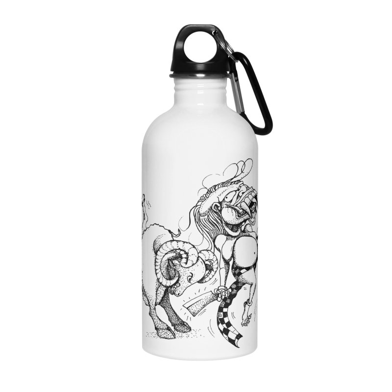 Celuluk Aries Accessories Water Bottle by DuMBSTRaCK CLoTH iNK PROJECT