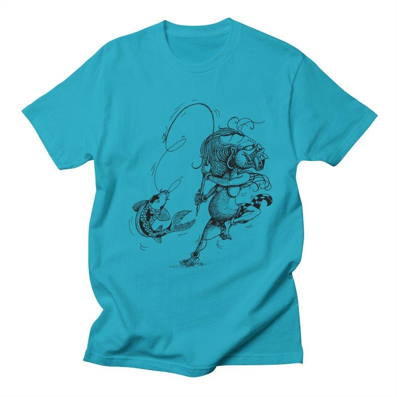 Celuluk Pisces Men's T-Shirt by DuMBSTRaCK CLoTH iNK PROJECT