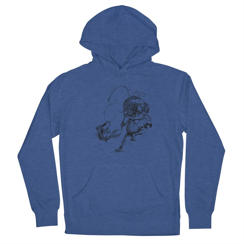 Celuluk Pisces Men's Pullover Hoody by DuMBSTRaCK CLoTH iNK PROJECT