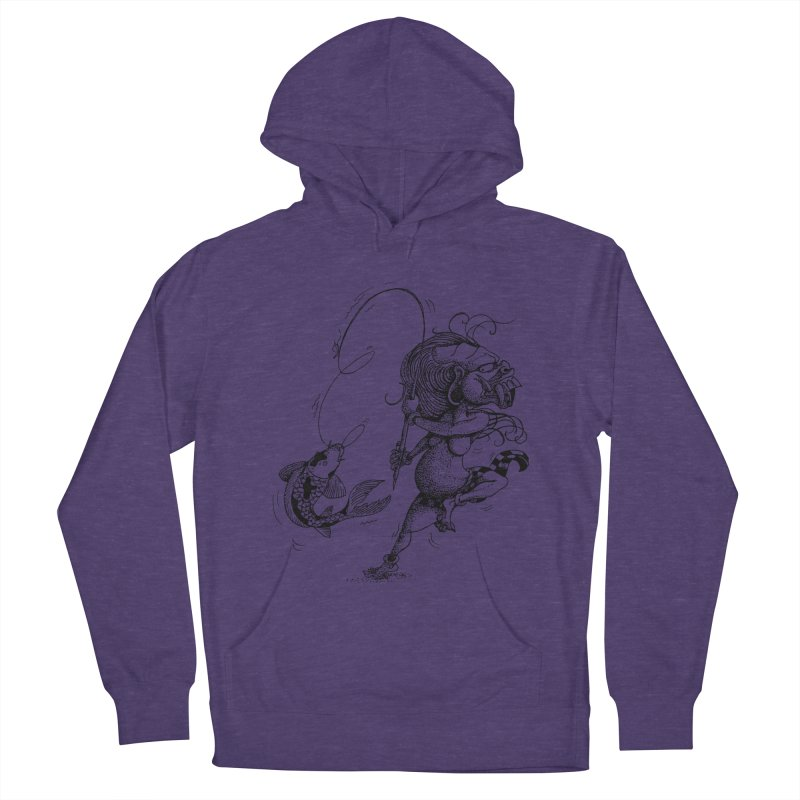 Celuluk Pisces Women's French Terry Pullover Hoody by DuMBSTRaCK CLoTH iNK PROJECT