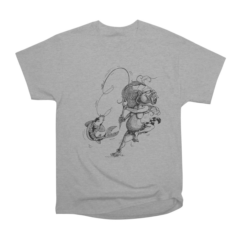 Celuluk Pisces Men's Heavyweight T-Shirt by DuMBSTRaCK CLoTH iNK PROJECT