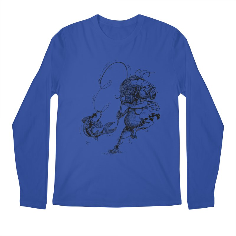 Celuluk Pisces Men's Longsleeve T-Shirt by DuMBSTRaCK CLoTH iNK PROJECT