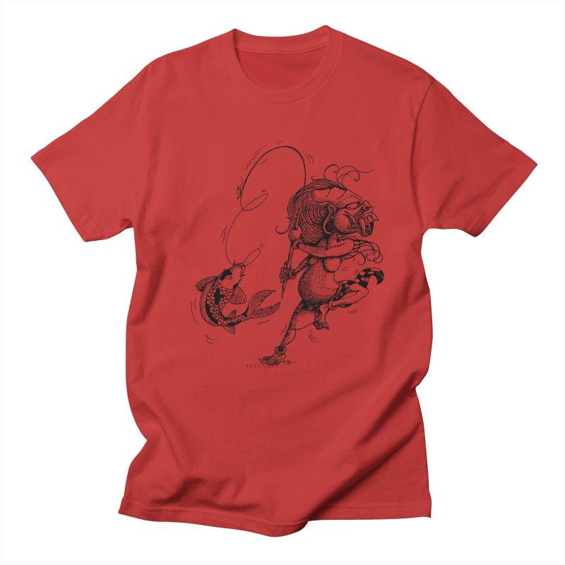 Celuluk Pisces Men's Regular T-Shirt by DuMBSTRaCK CLoTH iNK PROJECT