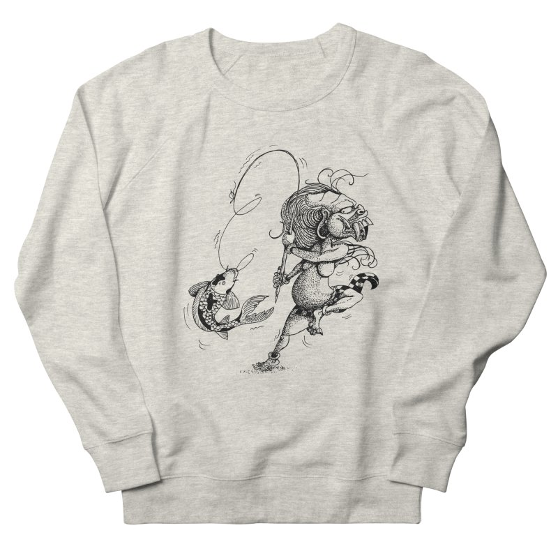 Celuluk Pisces Women's French Terry Sweatshirt by DuMBSTRaCK CLoTH iNK PROJECT