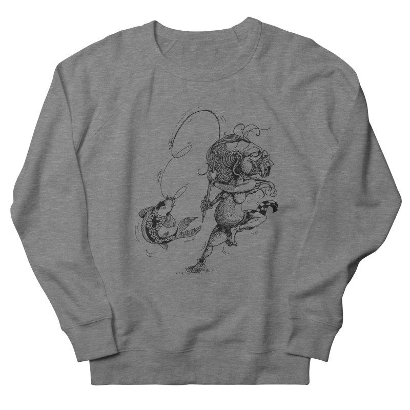 Celuluk Pisces Men's Sweatshirt by DuMBSTRaCK CLoTH iNK PROJECT