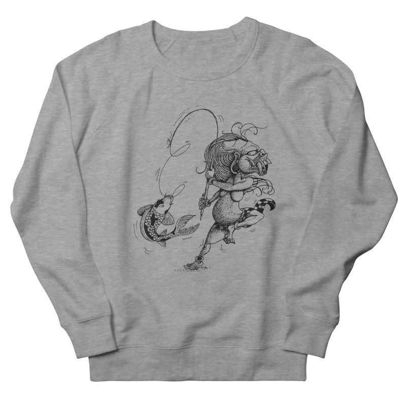 Celuluk Pisces Men's French Terry Sweatshirt by DuMBSTRaCK CLoTH iNK PROJECT