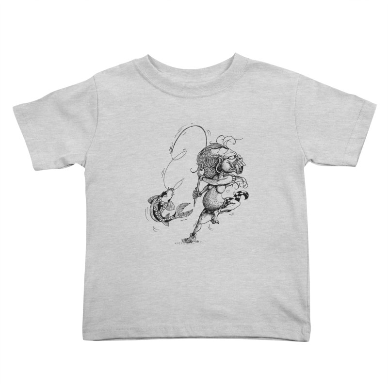 Celuluk Pisces Kids Toddler T-Shirt by DuMBSTRaCK CLoTH iNK PROJECT