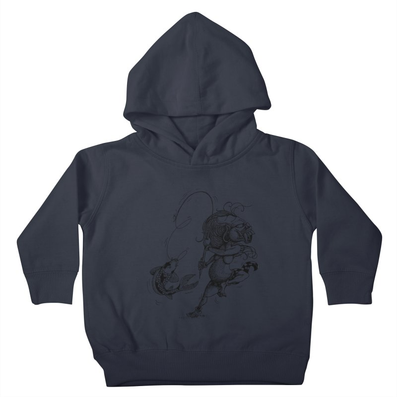 Celuluk Pisces Kids Toddler Pullover Hoody by DuMBSTRaCK CLoTH iNK PROJECT