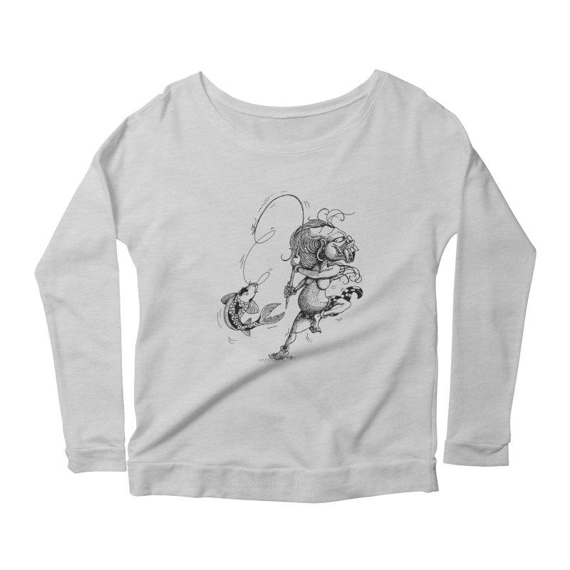 Celuluk Pisces Women's Scoop Neck Longsleeve T-Shirt by DuMBSTRaCK CLoTH iNK PROJECT