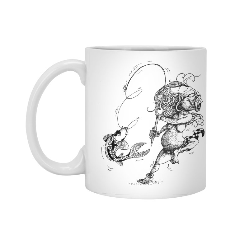 Celuluk Pisces Accessories Mug by DuMBSTRaCK CLoTH iNK PROJECT
