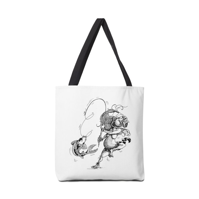 Celuluk Pisces Accessories Tote Bag Bag by DuMBSTRaCK CLoTH iNK PROJECT