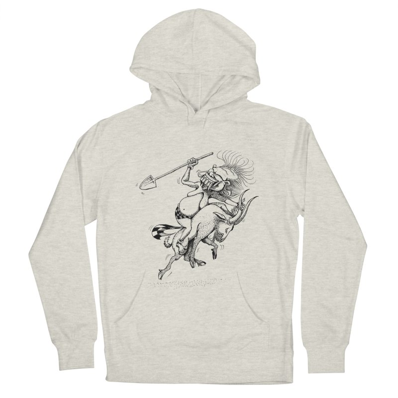 Celuluk Capricorn Women's French Terry Pullover Hoody by DuMBSTRaCK CLoTH iNK PROJECT
