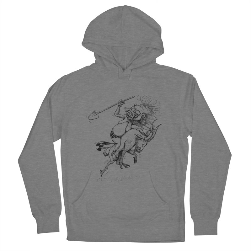 Celuluk Capricorn Men's French Terry Pullover Hoody by DuMBSTRaCK CLoTH iNK PROJECT