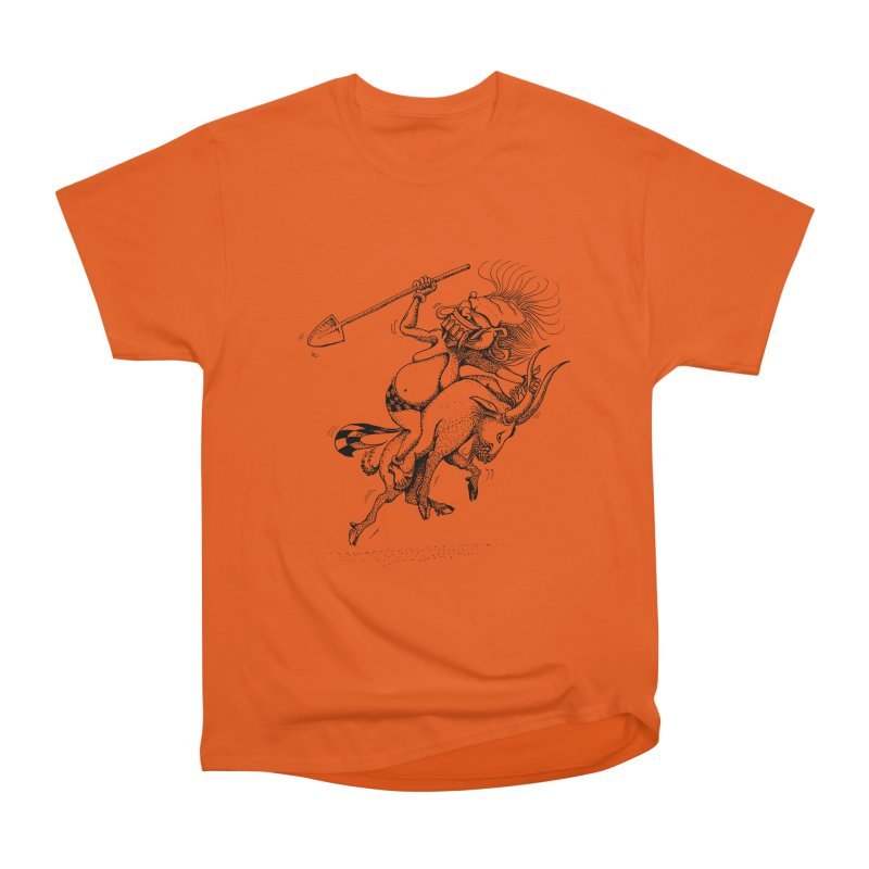 Celuluk Capricorn Men's Heavyweight T-Shirt by DuMBSTRaCK CLoTH iNK PROJECT