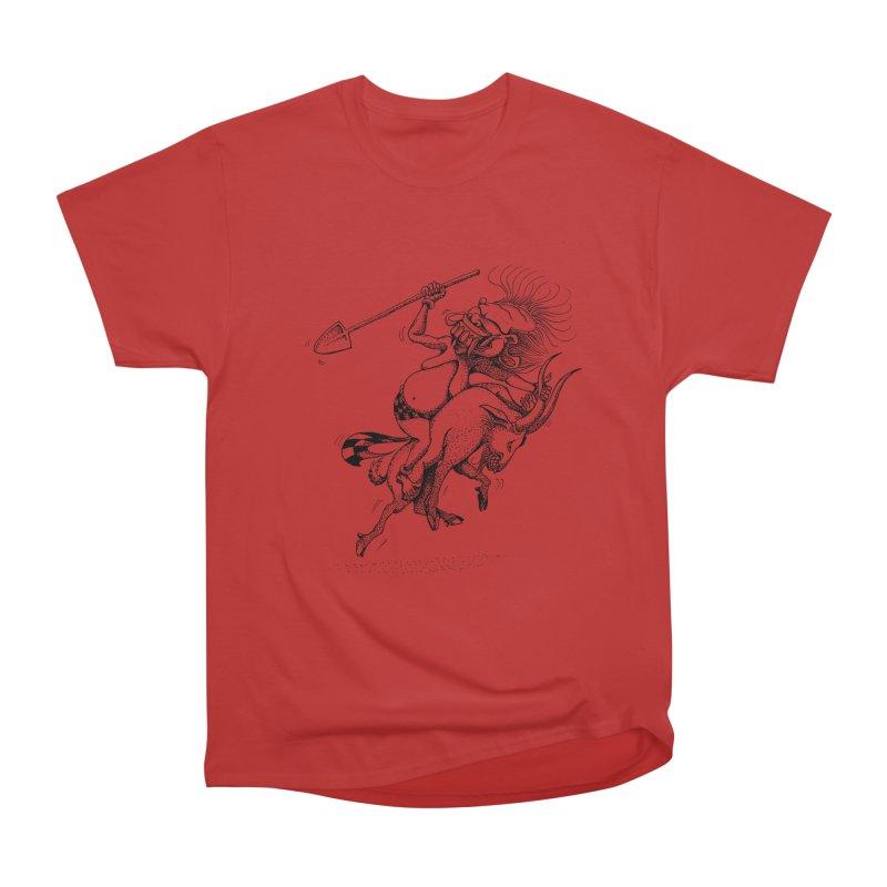 Celuluk Capricorn Women's Heavyweight Unisex T-Shirt by DuMBSTRaCK CLoTH iNK PROJECT