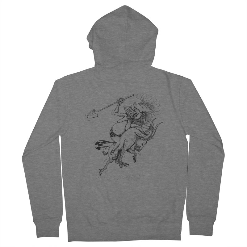 Celuluk Capricorn Men's Zip-Up Hoody by DuMBSTRaCK CLoTH iNK PROJECT