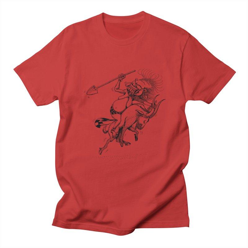 Celuluk Capricorn Men's Regular T-Shirt by DuMBSTRaCK CLoTH iNK PROJECT