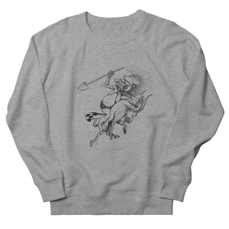 Celuluk Capricorn Women's French Terry Sweatshirt by DuMBSTRaCK CLoTH iNK PROJECT
