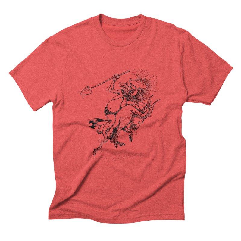 Celuluk Capricorn Men's Triblend T-Shirt by DuMBSTRaCK CLoTH iNK PROJECT