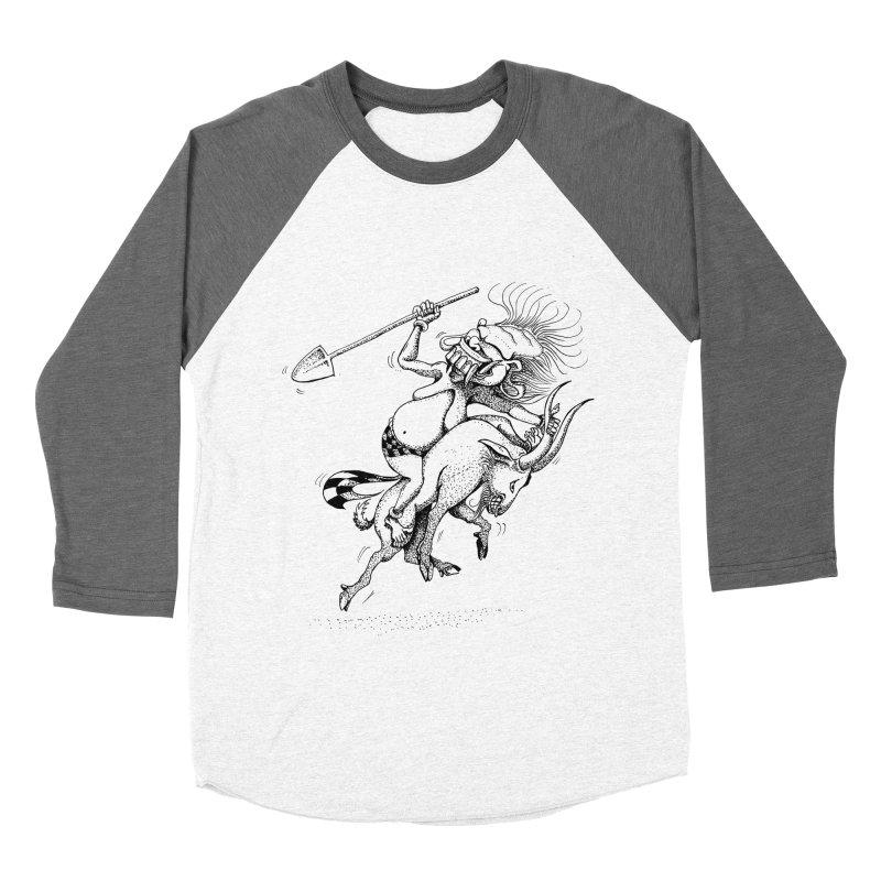 Celuluk Capricorn Women's Baseball Triblend Longsleeve T-Shirt by DuMBSTRaCK CLoTH iNK PROJECT