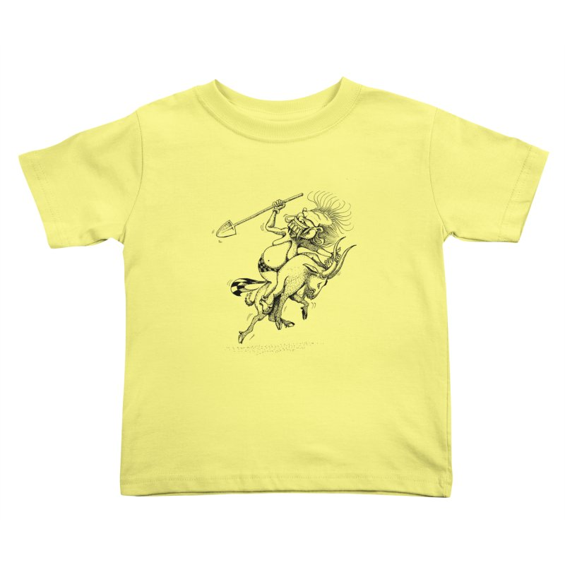 Celuluk Capricorn Kids Toddler T-Shirt by DuMBSTRaCK CLoTH iNK PROJECT